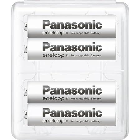 【Amazon.co.jp限定】パナソニック エネループ 単4形充電池 4本パック スタンダードモデル BK-4MCC/4SA