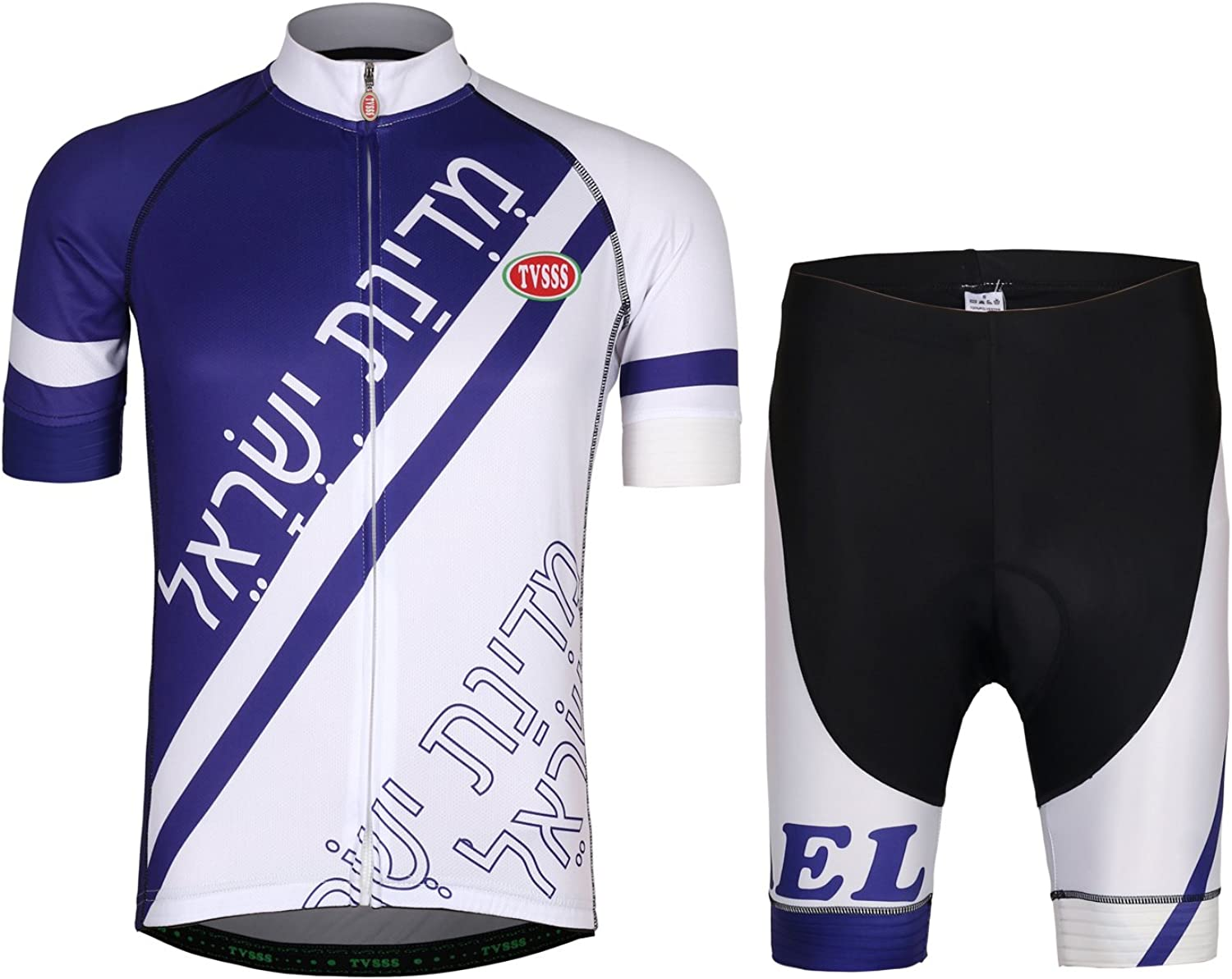 TVSSS Mens Cycling Jerseys Sets Flag Series MTB Suit Cycling Clothing Summer