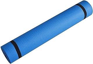 LXHDKDT Tapis de Yoga Tapis de Fitness Sportif antidérapant Tapis de Yoga en Mousse de Confort pour l'exercice, Le Yoga et...