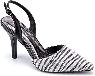 Women Shoes Slingback Kitten Heels Dress Party Pump