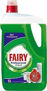 Fairy - Professional Original - Líquido lavavajillas a mano 5 litros - Pack de 2 (Total 10 litros)