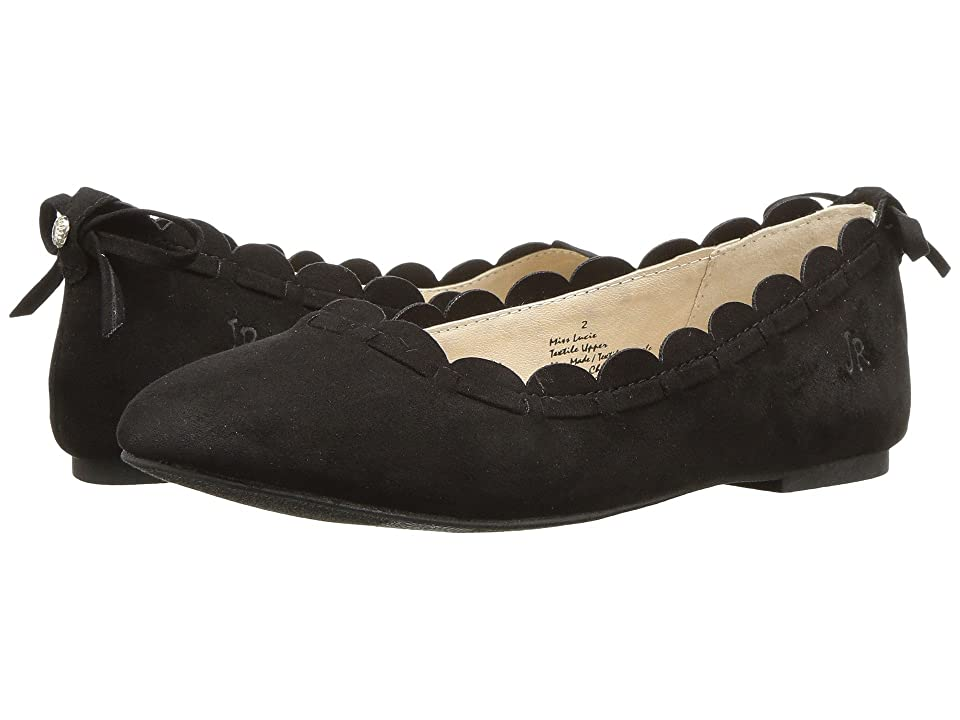 Jack Rogers Kids Miss Lucie (Little Kid/Big Kid) (Black) Girls Shoes