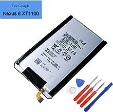 New Replacement Li-Polymer Internal Battery EZ30 Compatible with Google Nexus 6 Motorola XT1100 XT1103 XT1115 SNN5953A
