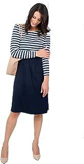 schicke /& Bequeme Stillmode A-Linie XL versch erm/öglicht diskretes Stillen Gr/ö/ße: XS Farben figurschmeichelnd Mania Stillkleid Lilly Stillkleid /& Langarm-Shirt