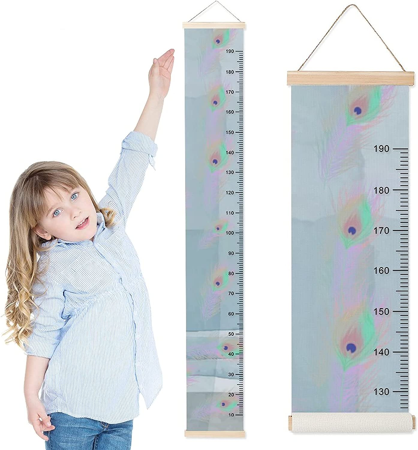 DKISEE Baby Growth Chart Child f Max 80% OFF Ruler Wall Height Cheap sale Hanging