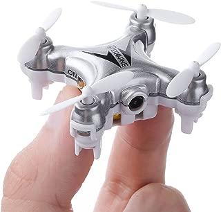 Mini Quadcopter Drone with Camera , EACHINE E10C Mini Quadcopter with HD Camera Selfie Pocked Drone RTF - 3D Flip, APP Control, Headless Mode, One-Key Return, LED Lights