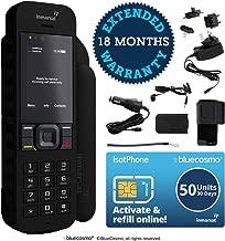 BlueCosmo Inmarsat IsatPhone 2.1 Satellite Phone Kit & 50 Unit Prepaid SIM (30 Days) - Global Coverage - Voice, SMS, GPS Tracking, Emergency SOS