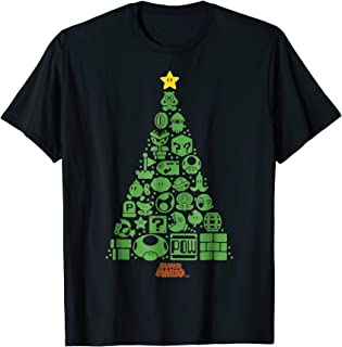 Best mario christmas tree shirt Reviews