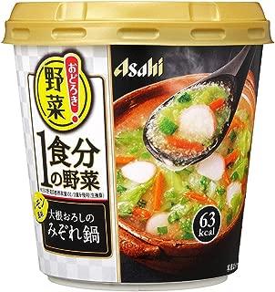 アサヒグループ食品 おどろき野菜1食分の野菜 大根おろしのみぞれ鍋 18.7g ×6箱