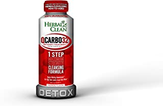 Herbal Clean Qcarbo32 with detoxify your body, herbal supplementl, 32 Fl Oz (Pack of 1)