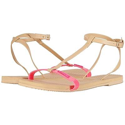 Havaianas You Belize Flip Flops (Shocking Pink) Women