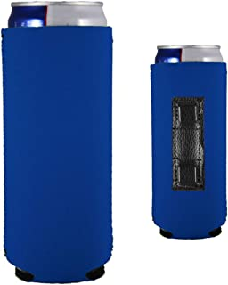 Magnetic Neoprene Collapsible Slim Can Coolie (Royal Blue, 2)