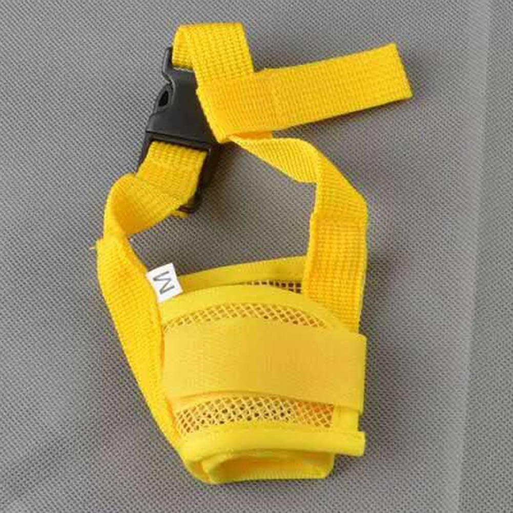 reine Farbe Anti-Biss-Maulkorb verstellbar Feli546Bruce Maulkorb