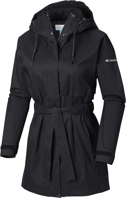 Columbia Women's 2019 Pardon My Trench Rain Jacket, Breathable, Lightweight