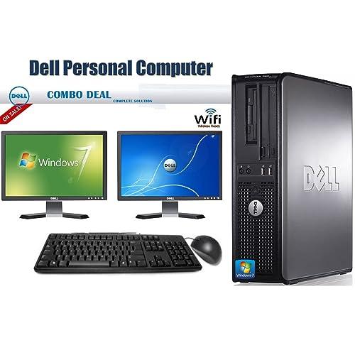 Pleasant Desktop Computer With Dual Monitors Amazon Com Interior Design Ideas Tzicisoteloinfo