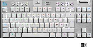Logitech G915 LIGHTSPEED TKL Tastiera Gaming Wireless Meccanica Tenkeyless, Profilo Ribassato, GL-Tactile Switch, LIGHTSYN...