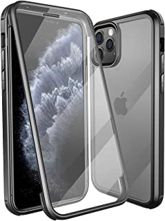 Colel iPhone 11 Pro Max Case,Full-Body Dual Layer Rugged Clear Bumper Case Built-in Tempered Glass Screen Protector for iP...