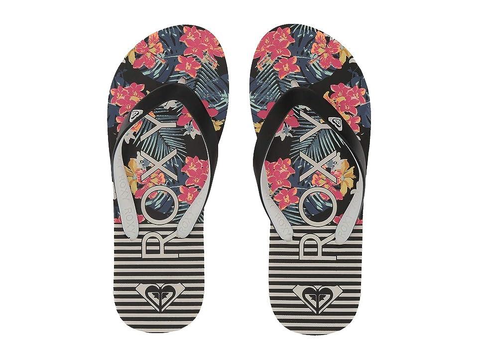 Roxy Kids Tahiti VI (Little Kid/Big Kid) (Black Multi) Girls Shoes