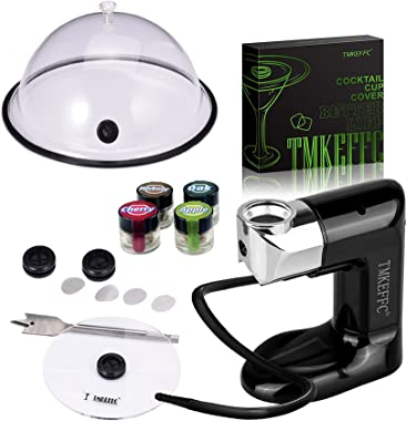 TMKEFFC Smoking Gun Food Smoker IV+ & Dome Cloche Cover & Cup Cover