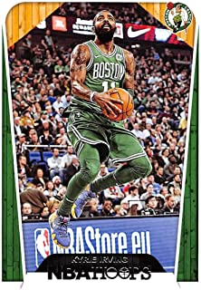 2018-19 NBA Hoops Basketball #292 Kyrie Irving Boston Celtics Tribute Official Trading Card made by Panini