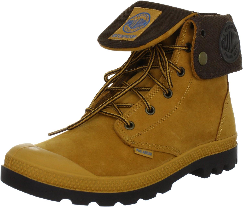 Palladium Men's Baggy Leather Gusset Boot Brown