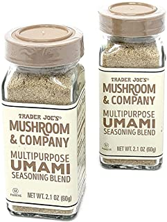 Trader Joe's Mushroom & Company Multipurpose UMAMI Seasoning Blend NET WT. (2 Packs) 2.1 OZ