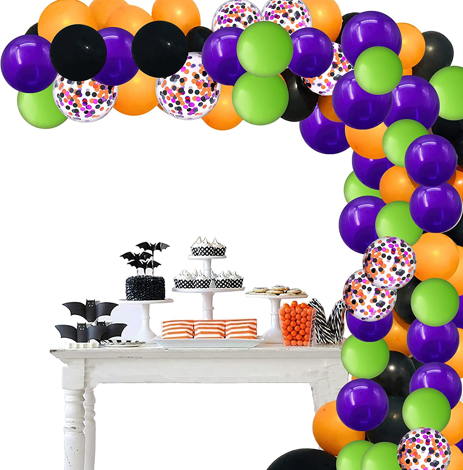 Halloween Balloon Garland Arches Page Two