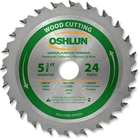 3inches Circular Saw Blade 24 Tooth Wood Cutting Tool Bore 88mm Diameter