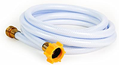 Camco 10ft TastePURE Drinking Water Hose - Lead and BPA Free, Reinforced for Maximum Kink Resistance 1/2