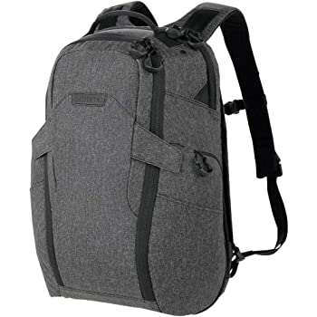 Maxpedition Entity 27 CCW-Enabled Laptop Backpack 27L for Covert Concealed Carry, Charcoal