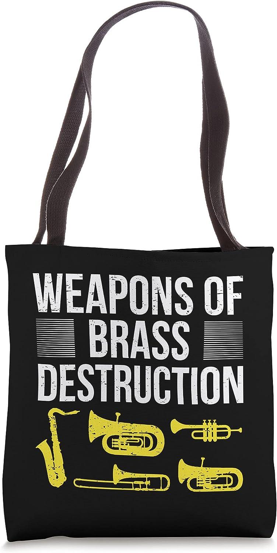 Brass Band Saxophonist Saxist Sax I Saxophone Tote Bag