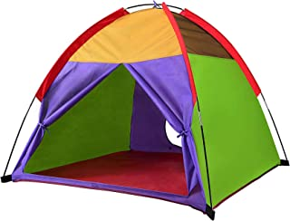 "Best Alvantor Kids Tents Indoor Children Play Tent For Toddler Tent For Kids Pop Up Tent Boys Girls Toys Indoor Outdoor Playhouse Camping Playground 8010 Rainbow 48""x48""x42"" Review"