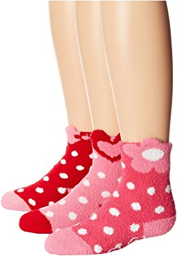 Jefferies Socks - Slipper Socks 3 Pack (Infant/Toddler/Little Kid/Big Kid)