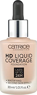 Catrice HD Liquid Coverage Foundation - 040 Warm Beige, 30 ml