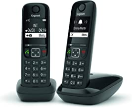 Gigaset AS690 Duo - Teléfono Inalámbrico, Pack de 2 Unidad