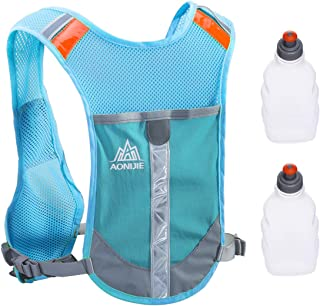 TRIWONDER Reflective Running Vest Hydration Race Vest Hydration Pack Backpack
