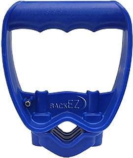 Back-Saving Tool Handle, Labor-Saving Ergonomic Shovel or Rake Handle Attachment, BLUE