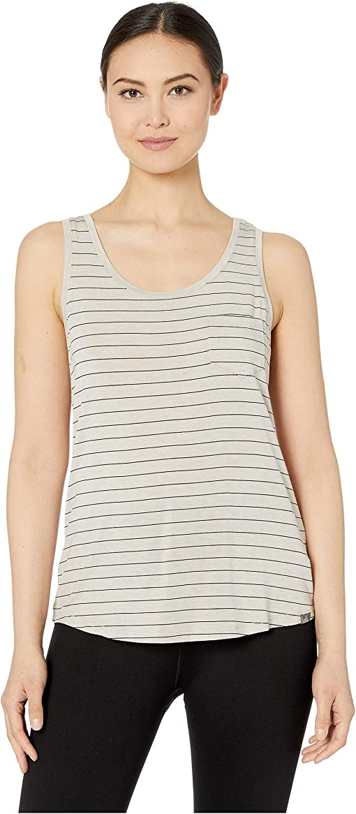 Pebble Grey Heather Stripe