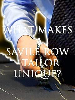London's Savile Row walking Tour - What Makes A Savile Row Tailor Unique?