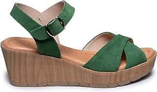 Amazon.es: Verde Zapatos de tacón Zapatos para mujer