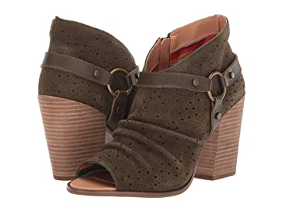Dingo Spurs (Olive) Cowboy Boots