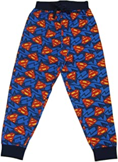 DC Comics Superman Logo - Cuff Leg Men's Lounge Pyjama Pants