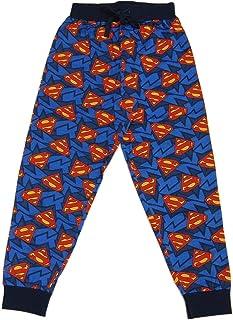 Mens Superman Lounge Pants Pyjama Bottoms (Medium, Superman)