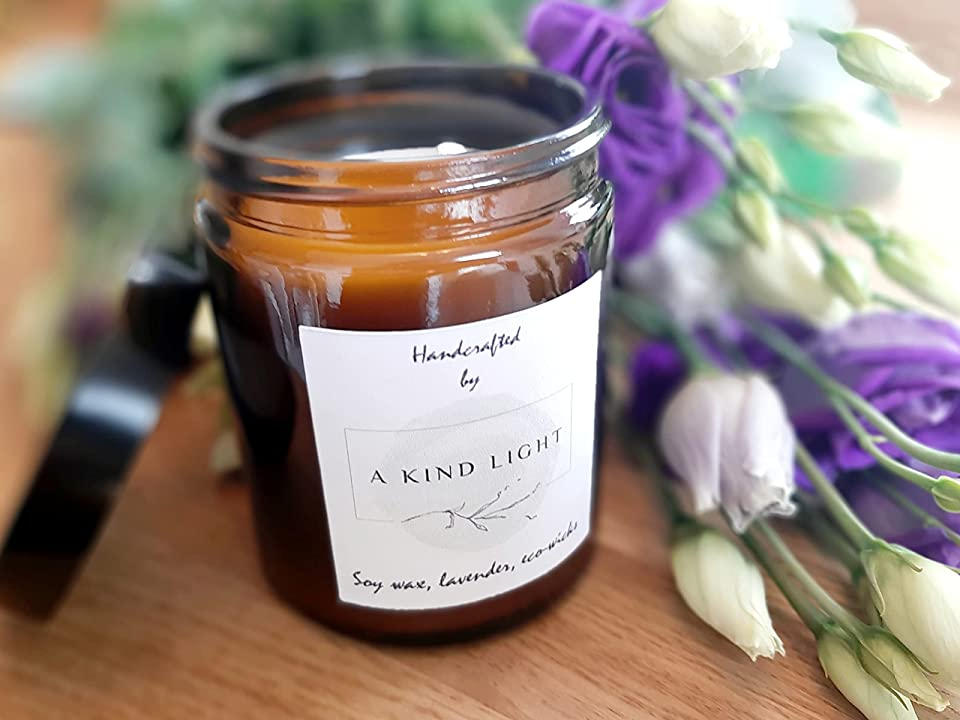 Eco-friendly Lavender Candle