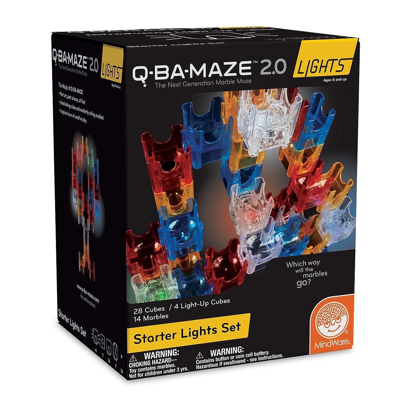MindWare Q-BA-Maze 2.0 Lights: (Starter Set)