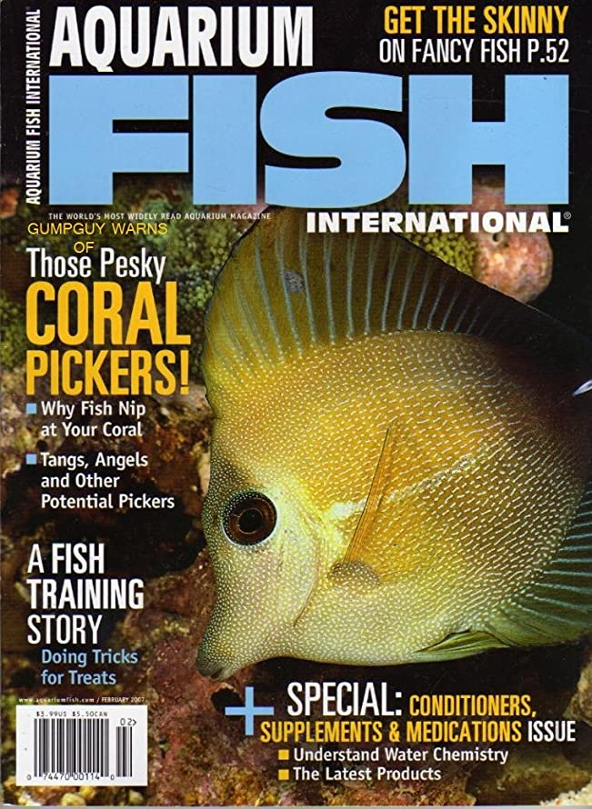 Aquarium Fish, February 2007 Issue