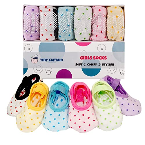 Toddler Girl Baby Socks Gift For 1 3 Year Old Girls Anti Slip Grip