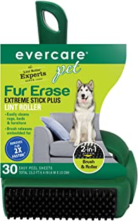 Evercare Pet Fur Erase Extreme Stick Plus 30 Sheet Lint Roller
