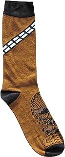 Hyp Star Wars Chewbacca Bandolier Men's Crew Socks Shoe Size 6-12