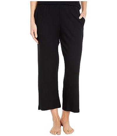 Skin Natural Skin Organic Cotton Modal Blend Portia Pants (Black) Women